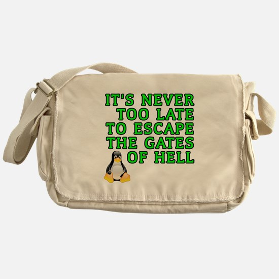 Escape the gates of hell - Messenger Bag