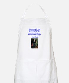 kind of person that keeps a p Apron