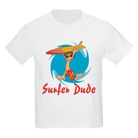 Surfer Dude Kids T-Shirt