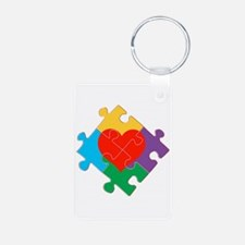 Autism Awareness Keychains