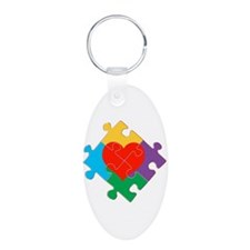 Autism Awareness Keychains