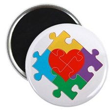 "Autism Awareness 2.25"" Magnet (100 pack)"