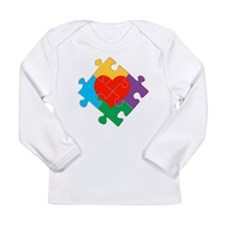 Autism Awareness Sign Long Sleeve Infant T-Shirt