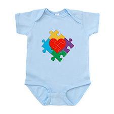 Autism Awareness Sign Infant Bodysuit