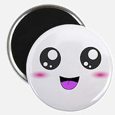 Happy Kawaii Smiley Face Magnet