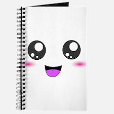 Happy Kawaii Smiley Face Journal