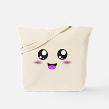 Happy Kawaii Smiley Face Tote Bag