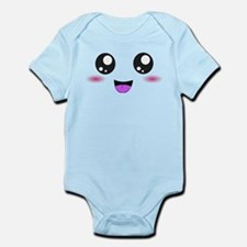 Happy Kawaii Smiley Face Infant Bodysuit