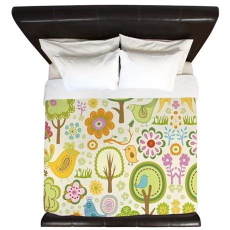 Birds King Duvet