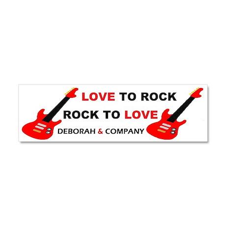 Deborah & Company Car Magnet 10 x 3