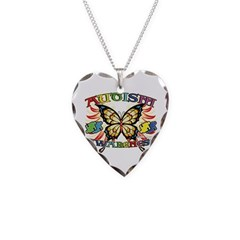 Autism Awareness Butterfly Necklace