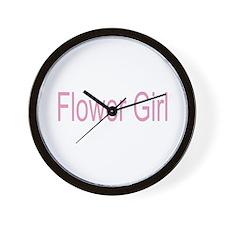 Flower Girl Gifts/Weddi Wall Clock