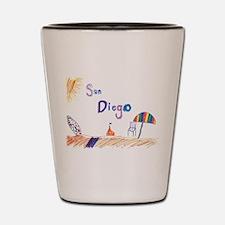 San Diego Shot Glass