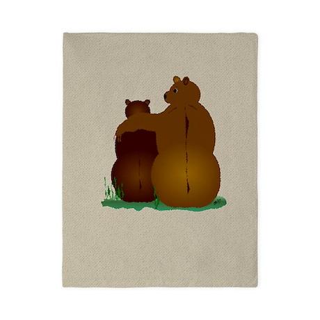 Warm & Fuzzy Bear Hug Twin Duvet