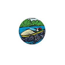 Motor Boat Mini Button