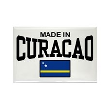 Made In Curacao Rectangle Magnet
