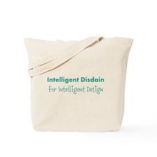 Disdain for Design (blue) Tote Bag