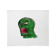 Zombie Throw Blanket