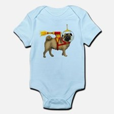 Space Pug Infant Bodysuit