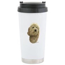 Labradoodle Travel Coffee Mug
