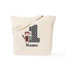 1st Birthday Pirate Tote Bag