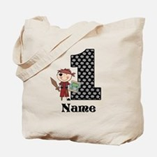 1st Birthday Pirate Tote Bag