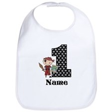 1st Birthday Pirate Bib
