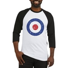 vintage mod target Baseball Jersey