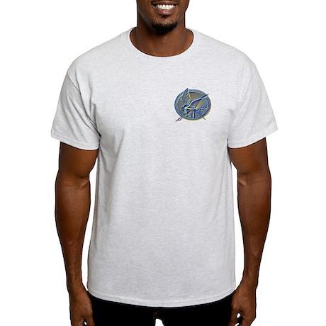 Silver Mockingjay Light T-Shirt