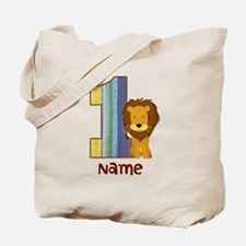 First Birthday Lion Tote Bag