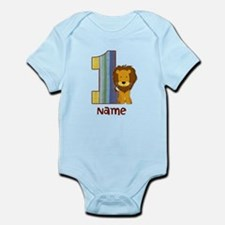 First Birthday Lion Infant Bodysuit