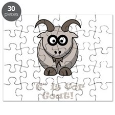 G is for Goat! Puzzle