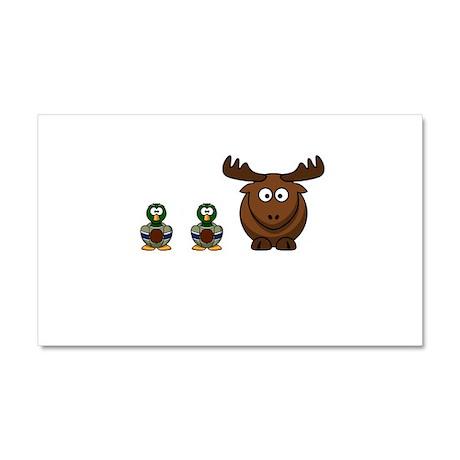 Duck Duck Moose Car Magnet 20 x 12