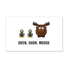 Duck Duck Moose 22x14 Wall Peel
