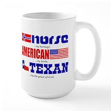 Coffee Mug- Heritage - Norse/American/Texan
