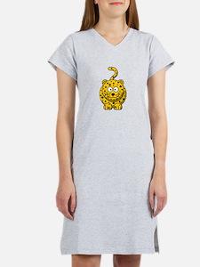 Cartoon Cheetah Women's Nightshirt
