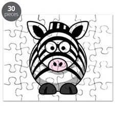 Cartoon Zebra Puzzle