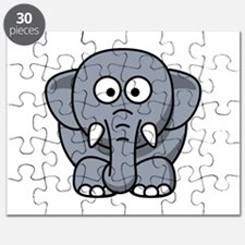Cartoon Elephant Puzzle