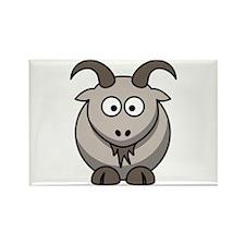 Cartoon Goat Rectangle Magnet (10 pack)