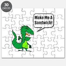 Dinosaur Make Sandwich Puzzle