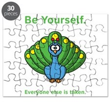 Peacock Be Yourself Puzzle