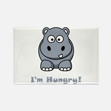 I'm Hungry Hippo Rectangle Magnet (10 pack)