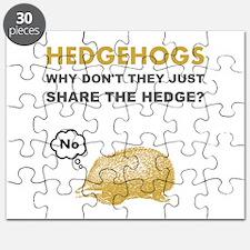 Hedgehogs Puzzle