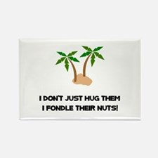 Tree Hug Nuts Rectangle Magnet (10 pack)