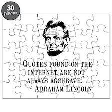 Lincoln Internet Puzzle