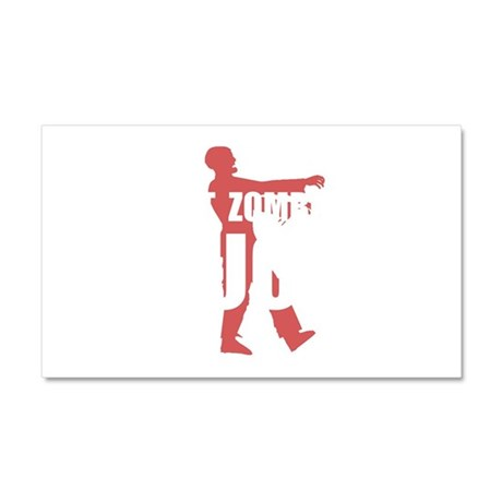 Fast Zombies Car Magnet 20 x 12