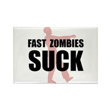 Fast Zombies Rectangle Magnet (100 pack)