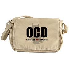 OCD Cat Messenger Bag