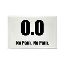 No Pain Rectangle Magnet (10 pack)