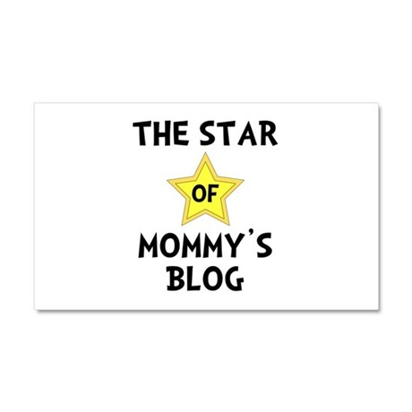 Mommy's Blog Star Car Magnet 20 x 12
